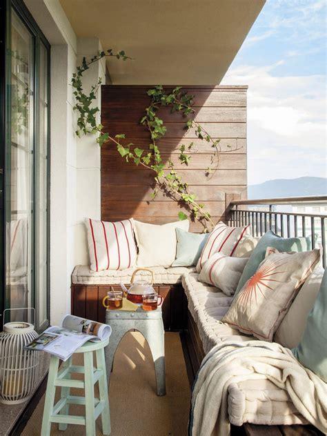 Los muebles ideales para terrazas pequeñas