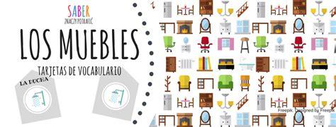 LOS MUEBLES: tarjetas de vocabulario | MEBLE: karty ...
