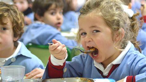 ¿Los niños que comen mal deben almorzar en el comedor del ...
