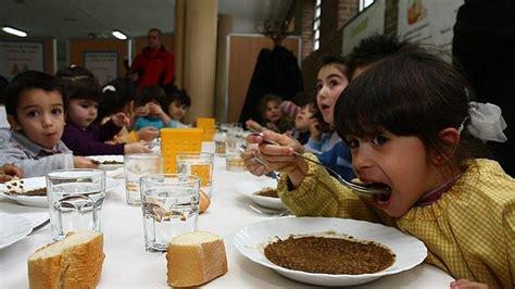 Los niños valencianos podrían llevar al colegio la comida ...