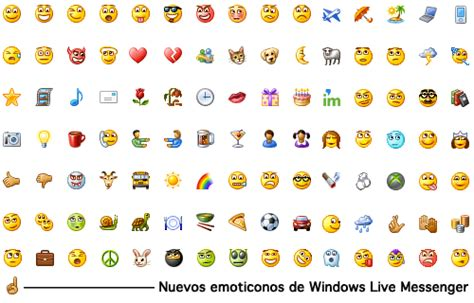 Los nuevos emoticones de Windows Live Messenger | juegos ...