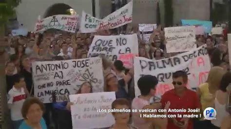 Los palmeños se vuelcan con Antonio José FACEBOOK: Palma ...