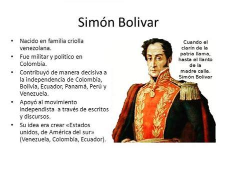 Los PENSAMIENTOS de Simón BOLÍVAR más importantes ...