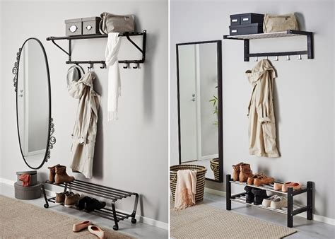 Los percheros de pared IKEA más prácticos para tu recibidor
