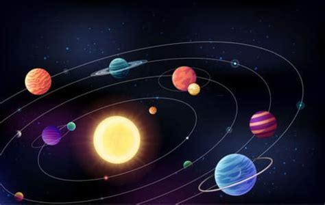 Los planetas del Sistema Solar 】
