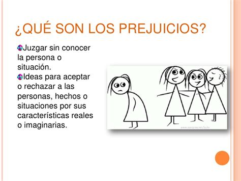Los prejuicios