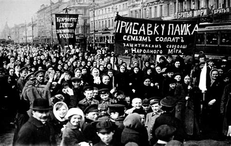 Los primeros pasos de la Revolución Rusa   Partido por la ...