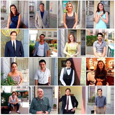 Los protagonistas de la cuarta temporada de  Amar es para ...