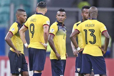 Los resultados que necesita Ecuador para avanzar a cuartos ...