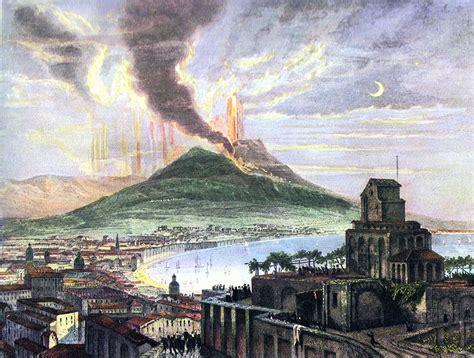 LOS RINCONES DE ITALIA: La erupción del vesubio