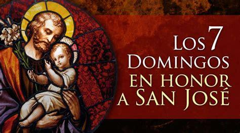 Los siete domingos en honor a San José   Blog de ACI Prensa