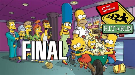 Los Simpson Hit and Run Final Nivel 7  Misiones Homer ...