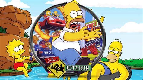 Los Simpson Hit and Run Todas las Cinematicas Español | La ...