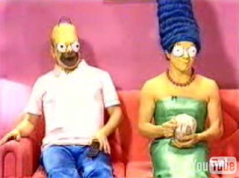 Los Simpson: live action Marge and Homer / Boing Boing