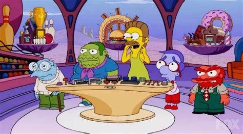 Los Simpson parodian la película  Inside Out  en la cabeza ...