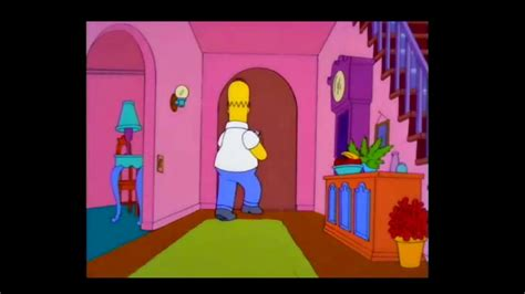 Los Simpsons   Homero escaleras sotano  latino    YouTube