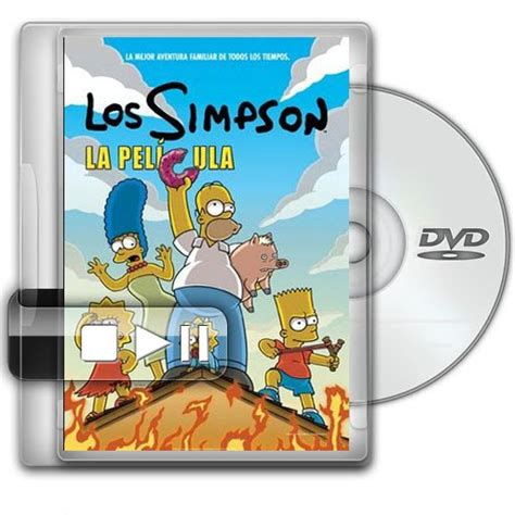 Los Simpsons La Pelicula Dvdrip Latino  2007