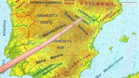 Los sistemas montañosos de España   YouTube
