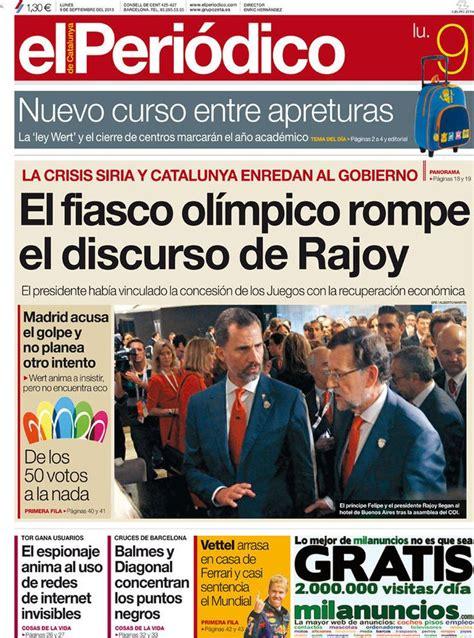 Los Titulares y Portadas de Noticias Destacadas Españolas ...