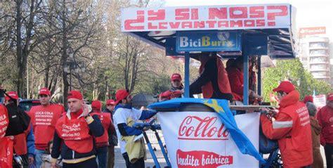 Los trabajadores de Coca Cola se manifiestan para salvar ...