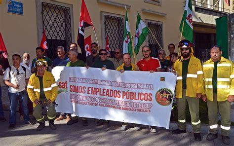 Los trabajadores de la Agencia de Medio Ambiente y Agua de ...