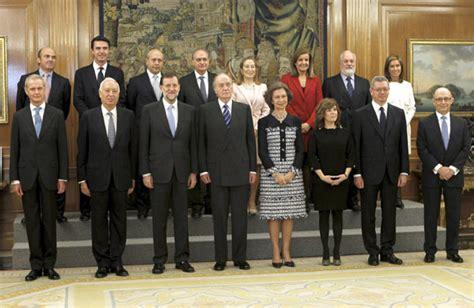 Los trece ministros del primer Gobierno de Mariano Rajoy ...