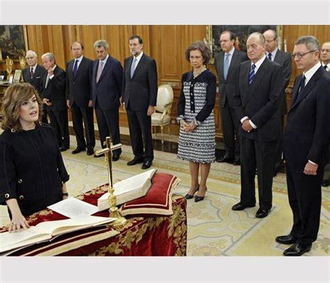 Los trece ministros del primer Gobierno de Rajoy juran sus ...