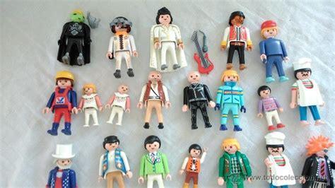 lote 39 figuras muñecos playmobil klicky niños   Comprar ...