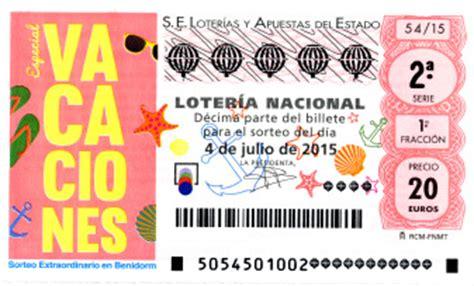 Lotería Nacional, sorteo especial verano de hoy sábado 4 ...