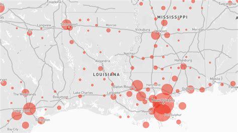 Louisiana coronavirus cases by parish map: Where COVID 19 ...