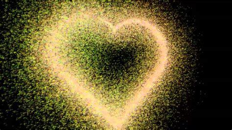 Love animation V2 / Animation de coeur particules / Heart ...