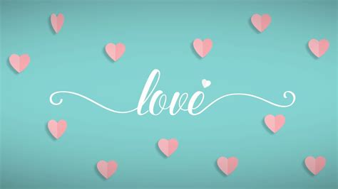 Love GIF like animation   White text with Pink hearts ...
