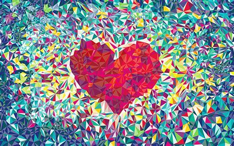 Love Heart Pattern Wallpapers HD / Desktop and Mobile ...