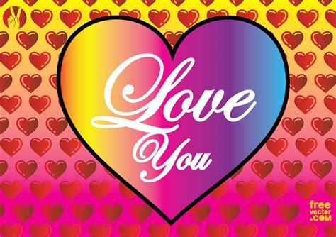 Love Heart Vector Vector Art & Graphics   freevector.com