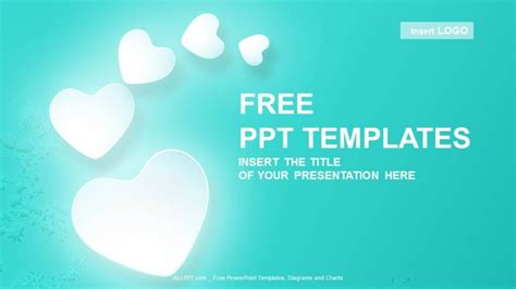 Love Hearts Abstract PowerPoint Templates + Download Free