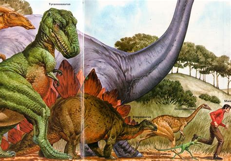 Love in the Time of Chasmosaurs: Vintage Dinosaur Art: The ...