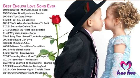 Love songs english best collection || Romantic songs ...