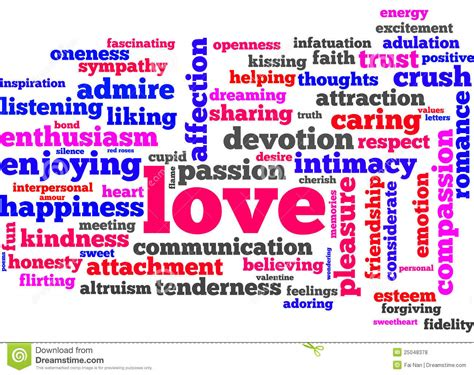 Love words stock illustration. Illustration of boyfriend ...
