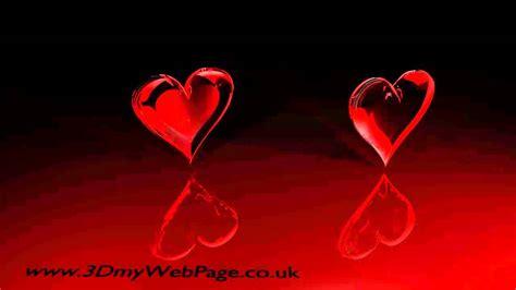 Love you heart animation   YouTube