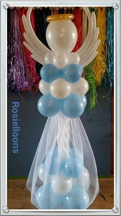 Lovely balloon angel | Balloon Sculptures | Globos para ...