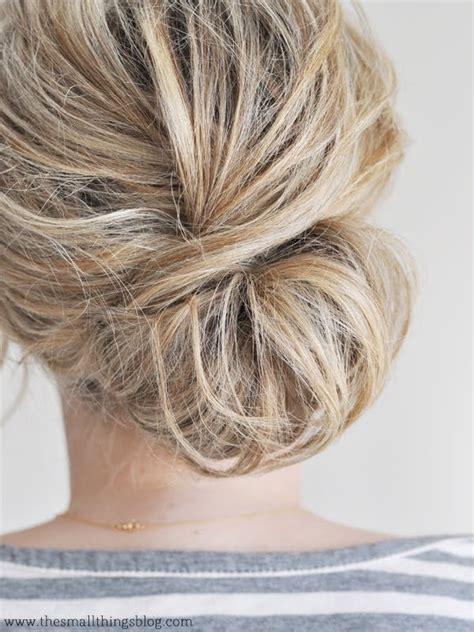 Low Chignon Hair Tutorial   YouTube