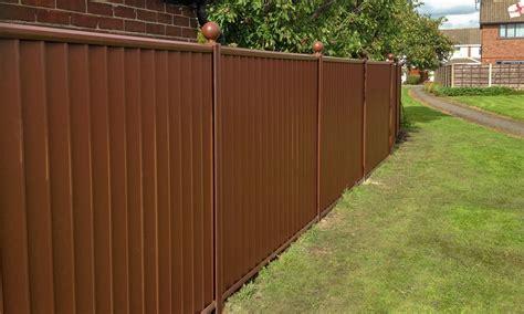 Low Maintenance Metal Garden Fencing | ColourFence
