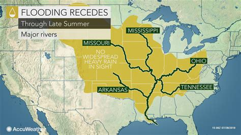 Lower Mississippi River to fall below flood stage after ...