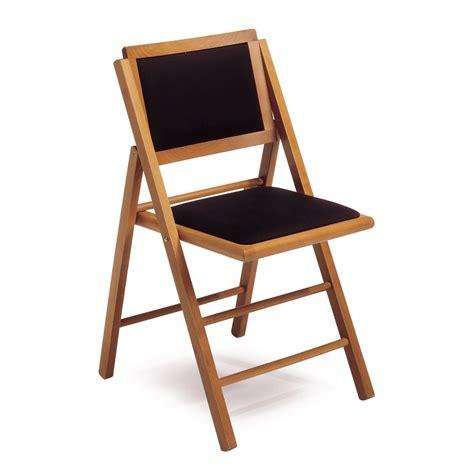 LS4: Silla plegable de madera, asiento y respaldo ...