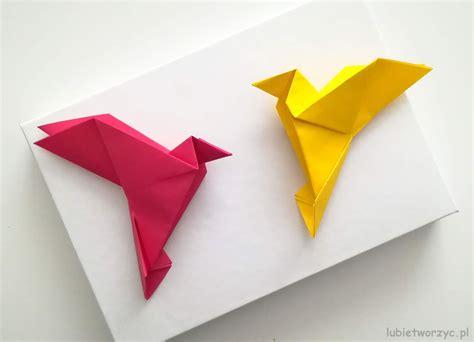 Lubię Tworzyć: Ptak origami  video
