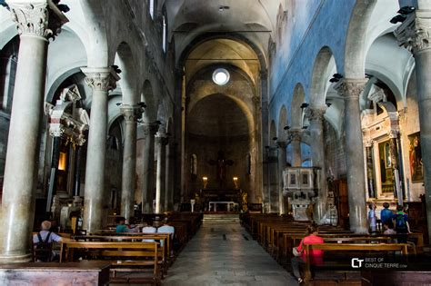 Lucca. Inside the Church of San Michele in Foro