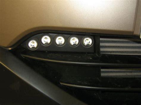 luces diurnas Nissan Qashqai, año 2010, luz diurna ...