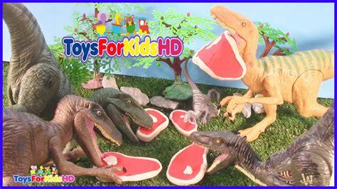 Lucha de Dinosaurios Velociraptor v/s Ceratoaurus  Videos ...