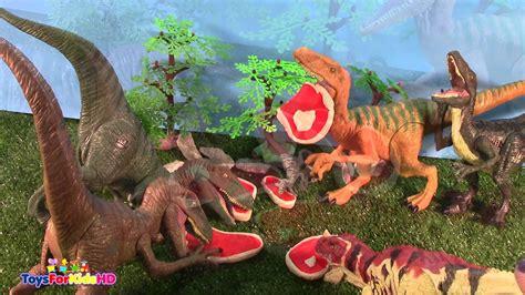 Lucha de Dinosaurios velociraptor vs ceratoaurus  videos ...