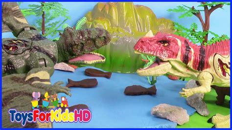 Luchas de Dinosaurios Ceratosaurus V/S Dimorphodon ...